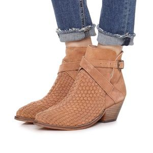 Free People Brown Venture Ankle Boot